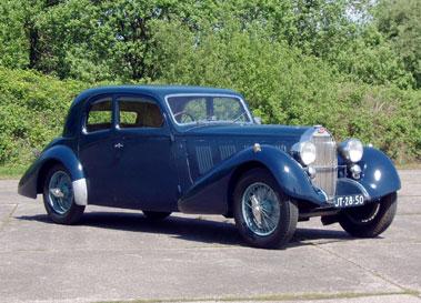 Lot 34-1937 Bugatti Type 57 Sports Saloon