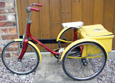 Lot 11-Raleigh Child's Tricycle