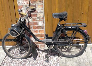 Lot 12-Velo Solex Moped