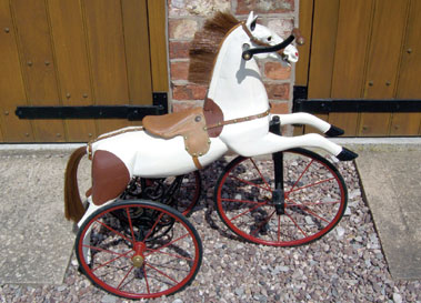 Lot 16-Child's Horse Tricycle