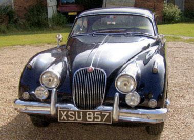 Lot 58-1958 Jaguar XK150 3.4 Litre Fixed Head Coupe