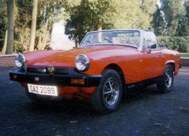 Lot 3-1978 MG Midget 1500