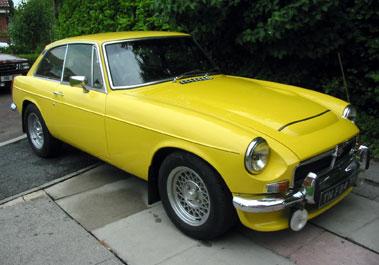 Lot 7-1973 MG B GT V8