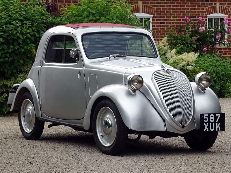 Lot 29-1937 Fiat 500 Topolino