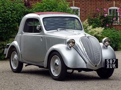 Lot 29 - 1937 Fiat 500 Topolino