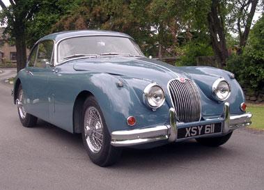 Lot 41-1958 Jaguar XK150 3.4 Litre Fixed Head Coupe