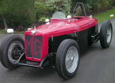 Lot 38-1947 MG TC Racecar