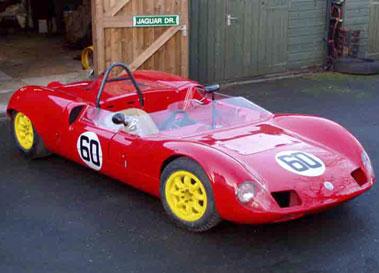 Lot 60-1963 Elva MK 7 Sports Racer