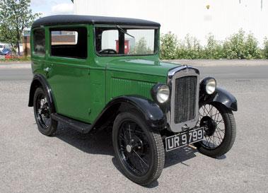Lot 10-1931 Austin Seven Saloon