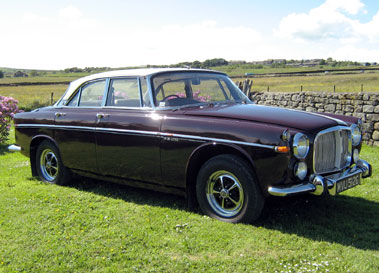 Lot 39-1968 Rover P5B Coupe