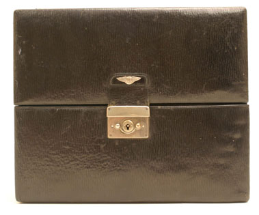 Lot 204-Travelling Vanity Case Suitable for a Vintage Bentley