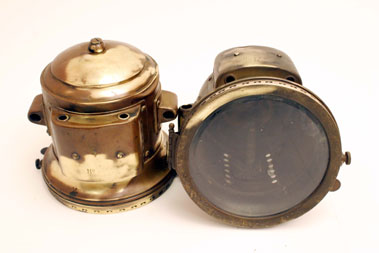 Lot 303-Veteran Motorcar Acetylene Headlamps