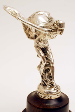 Lot 313-Edwardian Rolls-Royce Spirit of Ecstasy Mascot