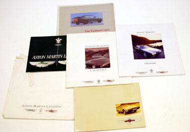 Lot 102-Aston Martin Paperwork