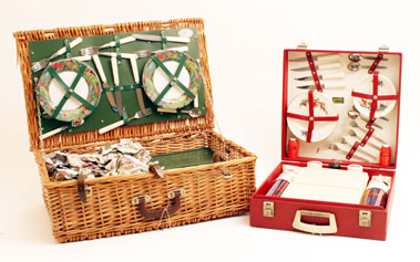 Lot 319-Two Picnic Sets
