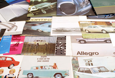 Lot 101-Assorted Sales Brochures