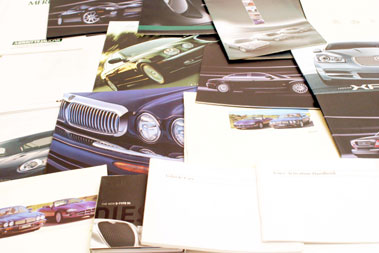 Lot 103-Assorted Jaguar Paperwork