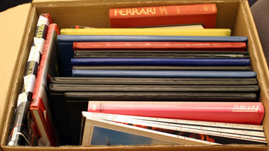 Lot 104-Quantity of Ferrari Literature