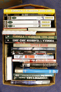 Lot 106-Quantity of Motor Racing Books