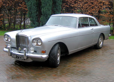 Lot 67-1963 Bentley S3 Continental Fixed Head Coupe
