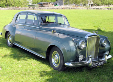 Lot 51-1958 Bentley S1 Saloon
