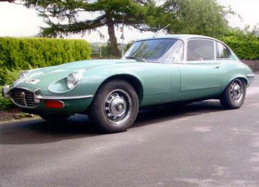 Lot 18-1973 Jaguar E-Type V12 Coupe