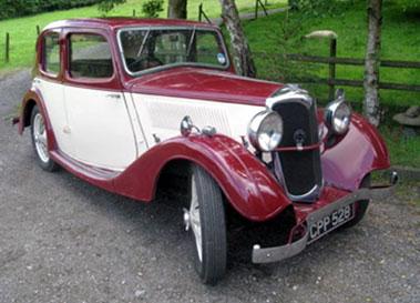 Lot 66-1936 Riley 9 Merlin