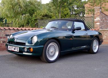 Lot 25-1993 MG R V8
