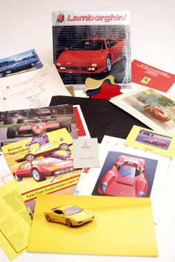 Lot 111-Assorted Italian Car Literature