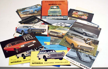 Lot 117-Assorted Sales Brochures