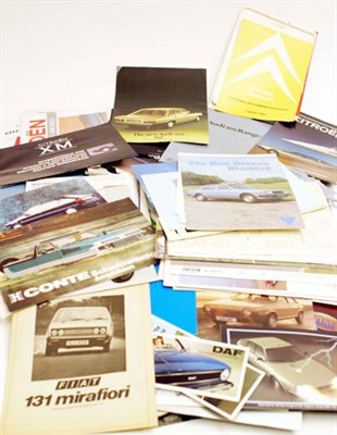 Lot 122-Assorted International Sales Brochures