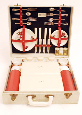 Lot 328-Sirram Four Person Picnic Set