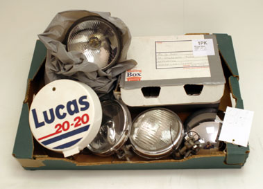Lot 314-Assorted Automobilia