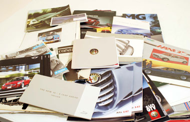 Lot 114-Quantity of Assorted Sales Brochures