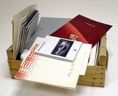 Lot 116-Quantity of Porsche Paperwork