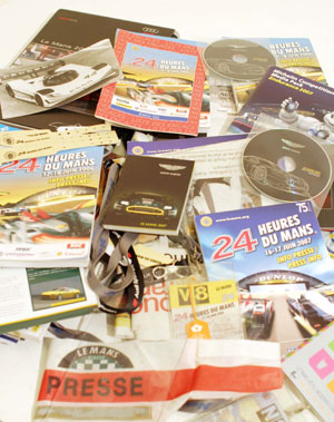 Lot 118-Quantity of Le Mans Ephemera