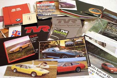 Lot 119-Huge Quantity of British Sales Brochures
