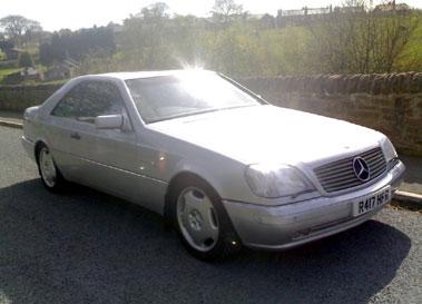 Lot 30-1997 Mercedes-Benz CL 500