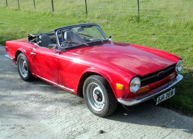 Lot 14-1972 Triumph TR6