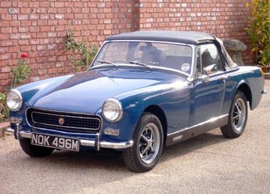 Lot 48-1973 MG Midget MKIII