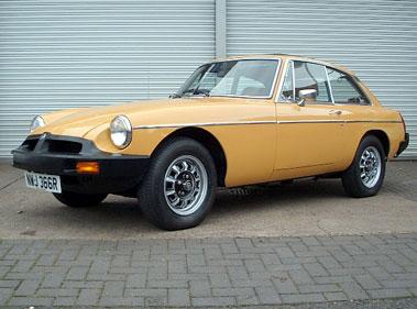 Lot 77-1976 MG B GT V8