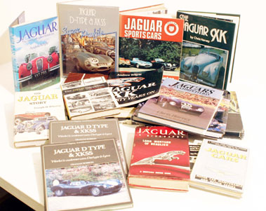 Lot 124-Quantity of Jaguar Books