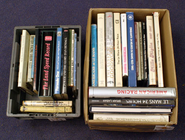 Lot 134-Quantity of Motor Racing Books