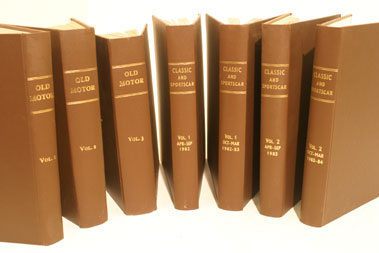 Lot 125-Bound 'Classic & Sportscar' Magazine - Volumes 1 - 24