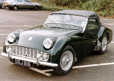 Lot 73-1959 Triumph TR3A