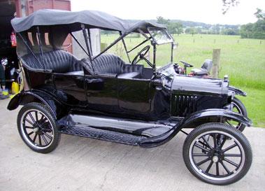Lot 20-1920 Ford Model T Tourer