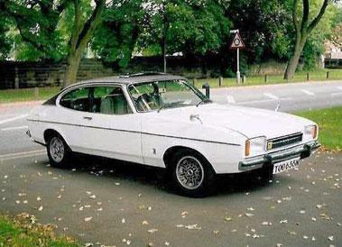 Lot 2-1974 Ford Capri 3.0 Ghia