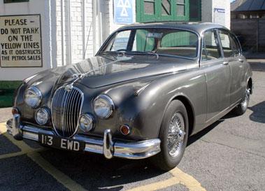 Lot 11-1963 Jaguar MK II 3.8 Litre