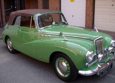 Lot 79-1954 Sunbeam MK III Supreme Convertible