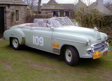 Lot 70-1950 Chevrolet Bel Air Convertible